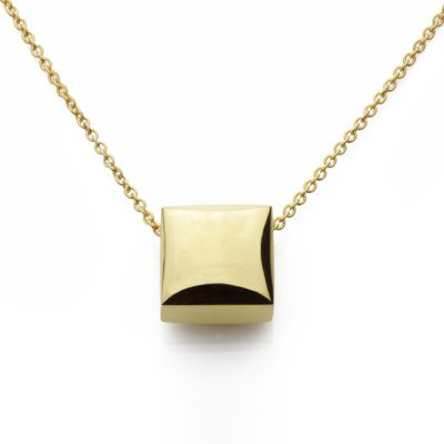Square-18ct-gold-plated-pendant-polished_