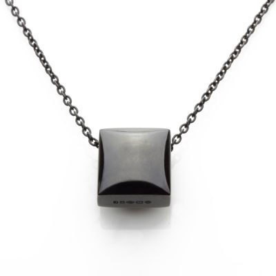 Square-ruthenium-plated-pendant