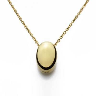 Oval-18ct-gold-plated-pendant-in-polish