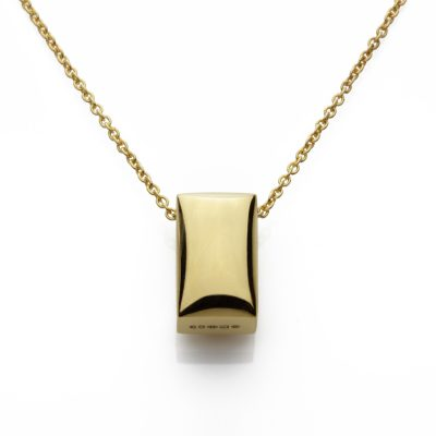 Rectangular-18ct-gold-plated-polished-pendant