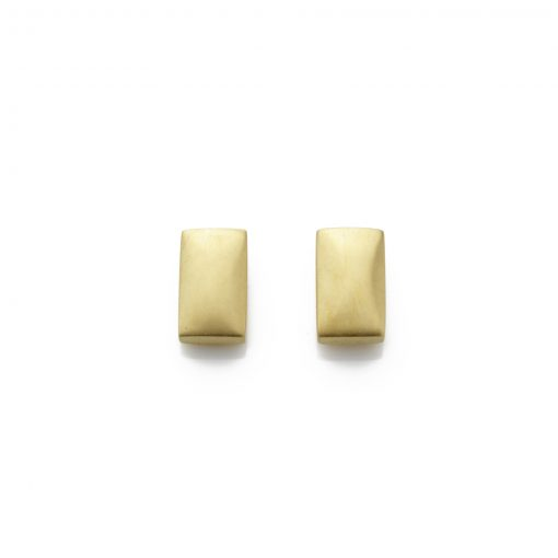Rectangular-18ct-gold-plated-studs-in-satin