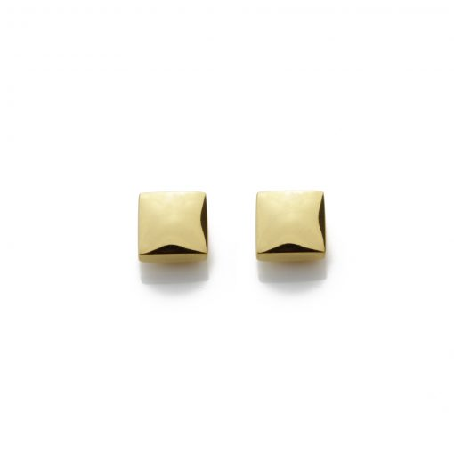 Square-18ct-gold-plated-polished-studs